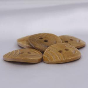 インド製 本水牛ボタン 20x26mm 5個入 ( BC1-08-1) ボタン 手芸 通販|assure-2|02