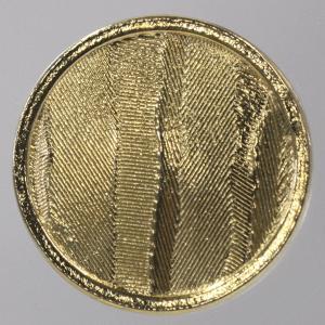 メタル(金属)ボタン 裏足付 15mm 1個入 (ゴールド)...