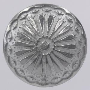 コンチョボタン・メタル(金属)ボタン 13mm (アエン・腐食防止コーティング) 1個入 CON01-ZN ボタン 手芸 通販|assure-2