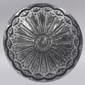 コンチョボタン・メタル(金属)ボタン 25mm (アエン墨入れ・腐食防止コーティング) 1個入 CON01-ZNU ボタン 手芸 通販|assure-2