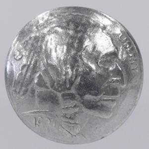 コンチョボタン・メタル(金属)ボタン 21mm (アエン・腐食防止コーティング) 1個入 CON03-ZN ボタン 手芸 通販|assure-2