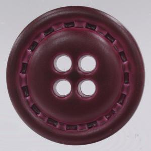 革調プラスチックボタン 11.5mm 赤 1個入 (レザータッチ) / DAR-NC1030-28(赤系) ボタン 手芸 通販|assure-2