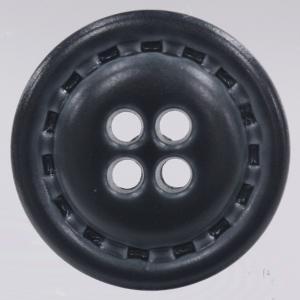 革調プラスチックボタン 20mm 紺 1個入 (レザータッチ) / DAR-NC1030-58(紺) ボタン 手芸 通販|assure-2