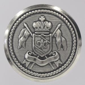 メタル(金属)ボタン 裏足付 21mm 1個入 (ニッケル スミ入れ) FM116 NSU (20mm代用 スーツ・ジャケット向) ボタン 手芸 通販|assure-2