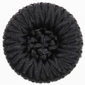 ボタン 手芸 通販  G9906-09(黒・コードボタン) 25mm 1個入 / デザイン、素材にこだわった高級ボタン|assure-2