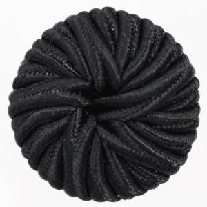 ボタン 手芸 通販  G9943-09(黒・コードボタン) 25mm 1個入 / デザイン、素材にこだわった高級ボタン|assure-2