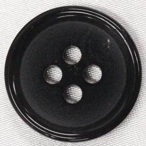 本水牛ボタン (ブラック) 25mm 1個入 天然素材 HB240-B (ジャケット・コート向) ボタン 手芸 通販|assure-2