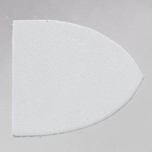 IRグローブ ダッフルベース(ウォッシャブルレザー) IR-WLB2 ホワイト 1セット(2枚入)|assure-2