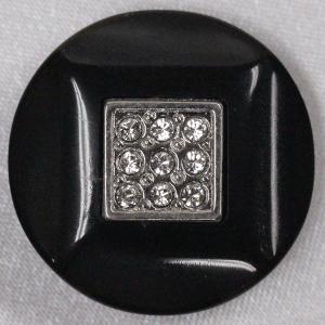IV145-N09 25mm 6個入 / 宝石のような輝きのボタン