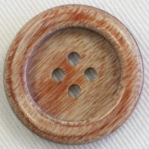 木ボタン(ウッドボタン) (茶) 25mm 1個入 天然素材 K-1500 (ジャケット・コート向) ボタン 手芸 通販|assure-2