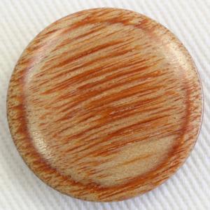 木ボタン(ウッドボタン) (茶) 21mm 1個入 天然素材 KMB (20mm代用 スーツ・ジャケット向) ボタン 手芸 通販|assure-2