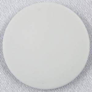ラクトボタン (白) 10mm 1個入  カゼイン素材の高級ボタン LH1020-01 (シャツ・ブラウス向) ボタン 手芸 通販|assure-2
