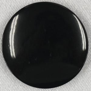 ラクトボタン (黒) 25mm 1個入  カゼイン素材の高級ボタン LH1022-09 (ジャケット・コート向) ボタン 手芸 通販  |assure-2