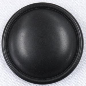 ラクトボタン (黒) 18mm 1個入  カゼイン素材の高級ボタン LH1048-09 (スーツ・ジャケット向) ボタン 手芸 通販  |assure-2