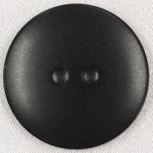 ラクトボタン (黒) 21mm 1個入  カゼイン素材の高級ボタン LH41-09 (20mm代用 スーツ・ジャケット向) ボタン 手芸 通販  |assure-2
