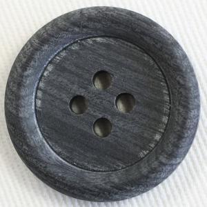 木ボタン(ウッドボタン) (濃グレー) 25mm 1個入 天然素材 OW3000-5 (ジャケット・コート向) ボタン 手芸 通販|assure-2