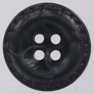革調プラスチックボタン 25mm 黒 1個入 (レザータッチ) / OW4600-09(黒) ボタン 手芸 通販|assure-2