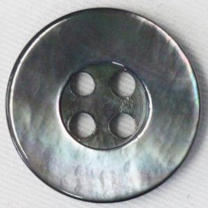 貝ボタン (黒蝶貝) 23mm 1個入 天然素材 SB36 (ジャケット・コート向) ボタン 手芸 通販|assure-2