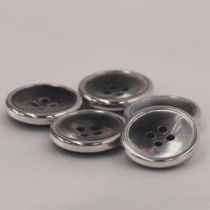貝ボタン (黒蝶貝) 20mm 1個入 天然素材 SMW5100 N09 (スーツ・ジャケット向) ボタン 手芸 通販|assure-2