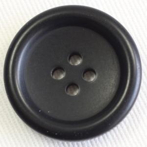 ボタン 手芸 通販  UNICORN770-09(黒) 25mm 1個入 / 高級スコッチボタン(プラスチック)|assure-2