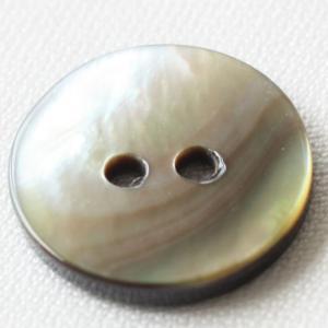 貝ボタン(黒蝶貝)天然素材 20mm 染色できる貝ボタン 1個入 天然素材 USB100 (スーツ・ジャケット向) ボタン 手芸 通販|assure-2