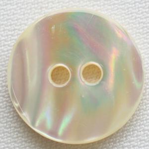 貝ボタン (天然貝) 20mm 染色できる貝ボタン 1個入 天然素材 USO8 (スーツ・ジャケット向) ボタン 手芸 通販|assure-2