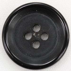【在庫限り20%off】  本水牛ボタン 23mm 四つ穴 HB190 09 黒 1個入  / ボタン 手芸 通販 VAP-30671|assure-2