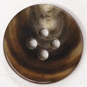 【在庫限り20%off】  本水牛ボタン 25mm 四つ穴 HB220 MB 1個入  / ボタン 手芸 通販 VAP-30673|assure-2