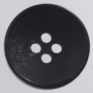 プラスチックボタン 09(黒) 20mm 1個入 (水牛調) VGR2050 (スーツ・ジャケット向) ボタン 手芸 通販|assure-2