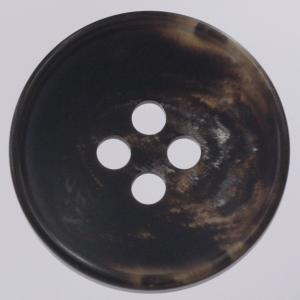 プラスチックボタン 48(茶系) 25mm 1個入 (水牛調) VGR2050 (ジャケット・コート向) ボタン 手芸 通販|assure-2