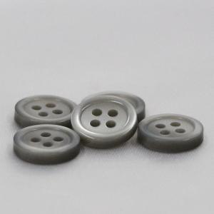 シャツボタン  10mm (グレー) 10個入 割れ 欠けに強いプラスチック / VSO9001-05 (シャツ・ブラウス向) ボタン 手芸 通販|assure-2