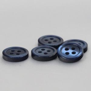 シャツボタン  9mm (紺) 10個入 割れ 欠けに強いプラスチック / VSO9001-57 (シャツ・ブラウス向) ボタン 手芸 通販|assure-2