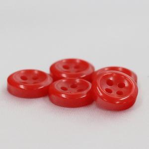 シャツボタン  13mm (赤) 10個入 割れ 欠けに強いプラスチック / VSO9002-15 (シャツ・ブラウス向) ボタン 手芸 通販|assure-2