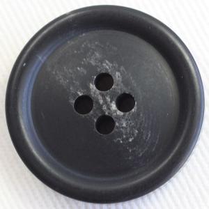 プラスチックボタン 09(黒) 20mm 1個入 (水牛調) VT98 (スーツ・ジャケット向) ボタン 手芸 通販|assure-2