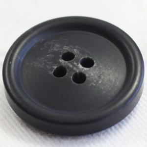 プラスチックボタン 09(黒) 20mm 1個入 (水牛調) VT98 (スーツ・ジャケット向) ボタン 手芸 通販|assure-2|02