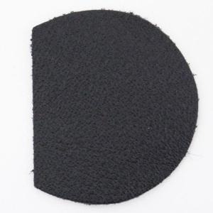 ダッフルベース(ウォッシャブルレザー) WLB-3-BLACK ブラック 1セット(2枚入)|assure-2