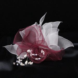 シルクオーガンジー・コサージュ|assure-2