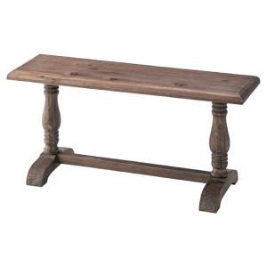 ミニベンチ 玄関ベンチ 長椅子 ブラウン 木製 おしゃれ 北欧 玄関椅子 LFS-178BR / 東谷|astas-shop