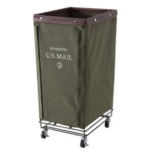 USメール ランドリー バスケット かご グリーン おしゃれ 収納 インテリア 雑貨 MIP-87GR / 東谷|astas-shop