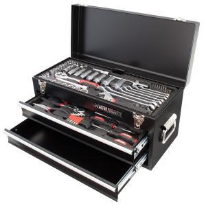 ■商品説明: 82点の工具を詰め込んだ、ツールセットです。  ■商品仕様: ・ボックス:W530×D...
