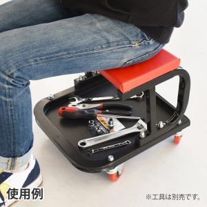 AP シートクリーパー【ローラーシート 作業椅...の詳細画像1