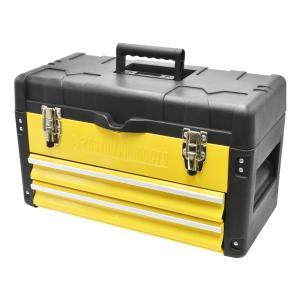 AP プラスチック&スチール ツールボックス 2段【工具箱 道具箱 工具ケース】【TOOL BOX TOPチェスト プラスチック】【アストロプロダクツ】