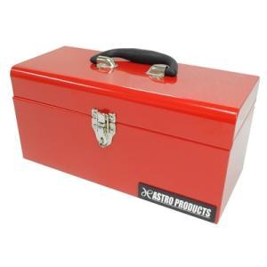 AP ツールボックス レッド BX632【工具箱 道具箱 ツールケース】【収納 BOX 車載 持ち運び】【アストロプロダクツ】
