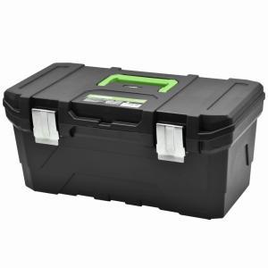 AP プラスチック ツールボックス BX844【工具箱 プラスチック かっこいい おしゃれ 工具入れ 収納 工具収納 整理 バイク 車 自動車 整備 DIY アストロ】