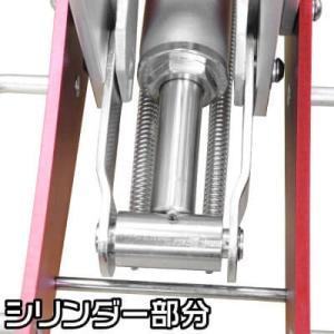 AP 2.0TON アルミ レーシングジャッキ【2t ジャッキ アルミジャッキ 軽い 軽量 低床 低床ジャッキ ローダウン 油圧 タイヤ交換 アストロ GARAGEJACK】|astroproducts|05