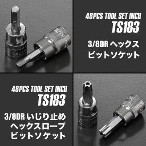 【ハーレー アメ車】 AP インチ ツールセット (48点組) 【inch インチ】 【工具セット ツールセット】 TS183