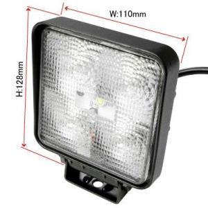 AP 15W LEDフラットビーム 角型ワークライト【フォグライト FOGランプ】【LEDフォグ SMD 追加灯 作業灯】【アストロプロダクツ】|astroproducts