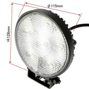 AP 18W LEDフラットビーム 丸型ワークライト【フォグライト FOGランプ】【LEDフォグ SMD 追加灯 作業灯】【アストロプロダクツ】|astroproducts