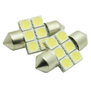 AP 2PC 3chip6SMD LEDルームランプ 31mm【ヒューズ型LED 室内灯】【SMD ドアランプ ラゲッジランプ】【アストロプロダクツ】 astroproducts