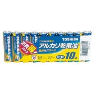 ■商品仕様: ・タイプ:アルカリ乾電池 ・形状:単3形  ■商品説明: アルカリ乾電池10本お買い得...